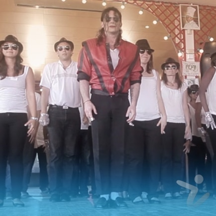 animation danse Michael Jackson