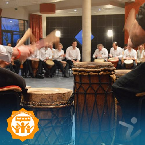 team building musique en mode percussions africaines